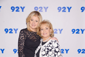 Barbara Walters In Conversation with Arianna Huffington and Barbara Walters
