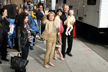 Barbara Walters Celebrities Visit 'The Late Show With David Letterman'