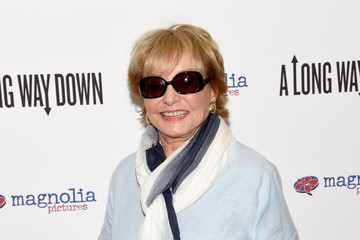Barbara Walters 'A Long Way Down' Premieres in NYC