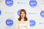 Alice Levine attends the Barclaycard Mercury Prize nominations launch at The Hospital Club on September 10, 2014 in London, England.