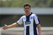 Gareth Barry of West Bromwich Albion during the Pre-season friendly between Barnet and West Bromwich Albion on July 7, 2018 in Barnet, United Kingdom.
