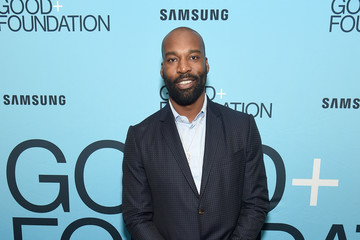 Baron Davis 2018 GOOD+ Foundation 'An Evening of Comedy + Music' Benefit Presented By Samsung Electronics America - Arrivals & Cocktail Reception