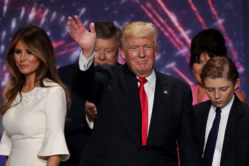 Barron Trump Republican National Convention: Day Four