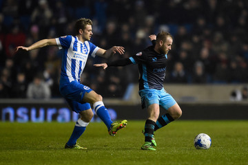 Barry Bannan Brighton and Hove Albion v Sheffield Wednesday - Sky Bet Championship