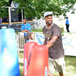 Bart Scott Nickelodeon's 10th Annual Worldwide Day of Play Activities at Prospect Park