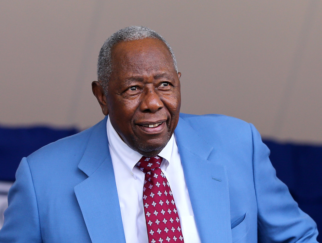 hank aaron Hank aaron baseball stats with batting stats, pitching stats and fielding stats, along with uniform numbers, salaries, quotes, career stats and biographical data.