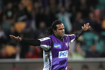 Naved ul Hasan Dominic THornely Big Bash League - Hurricanes v Sixers