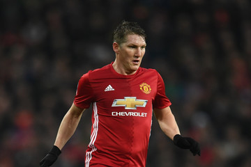 Bastian Schweinsteiger Manchester United v Wigan Athletic - The Emirates FA Cup Fourth Round