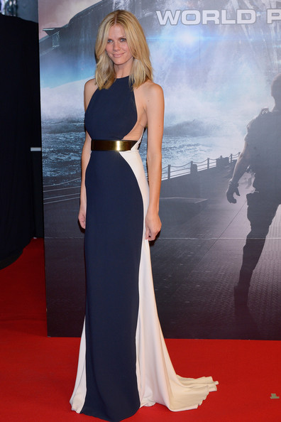 Brooklyn+Decker in 'Battleship' Japan Premiere