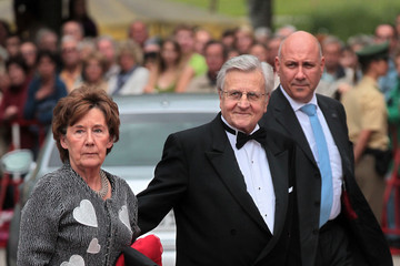 Jean-Claude Trichet Bayreuth Festival 2011 Opening