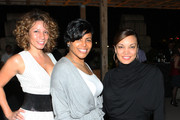 (L- R) Fantasy Buckman, Cherry Martinez, and Egypt attend The Beacon Condominiums Celebrates the Spring Issue Of Athletes Quarterly at The Beacon Condominiums on May 20, 2010 in Jersey City, New Jersey.
