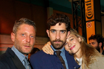 Beatrice Borromeo Lapo Elkann Inaugurates Garage Italia Customs