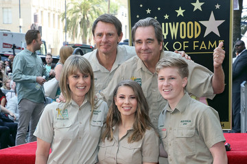 Beau Bridges Steve Irwin Honored Posthumously With Star On The Hollywood Walk Of Fame