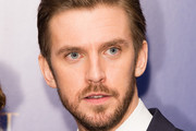 """Dan Stevens attends the UK Launch Event of """"Beauty And The Beast"""" at Odeon Leicester Square on February 23, 2017 in London, England."""