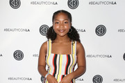 Laya DeLeon Hayes attends the Beautycon Festival LA 2018 at the Los Angeles Convention Center on July 14, 2018 in Los Angeles, California.