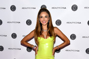 Patricia Contreras attends Beautycon Festival Los Angeles 2019 at Los Angeles Convention Center on August 10, 2019 in Los Angeles, California.
