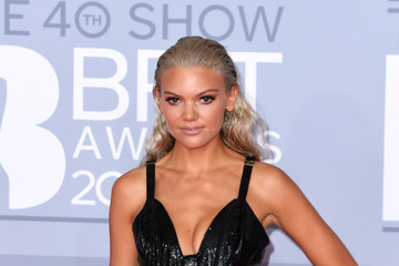 Becca Dudley The BRIT Awards 2020 - Red Carpet Arrivals