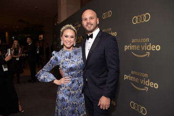 Becca Tobin Amazon Prime Video's Golden Globe Awards After Party - Red Carpet