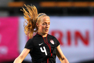 Becky Sauerbrunn United States v Brazil - International Friendly