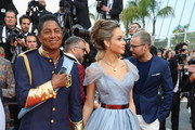 "Jermaine Jackson (L) attends the ""The Beguiled"" screening during the 70th annual Cannes Film Festival at Palais des Festivals on May 24, 2017 in Cannes, France."