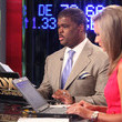 Charles Payne Behind The Scenes At FOX Business For The Stock Market Opening
