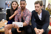Phoebe Tonkin and Charles Michael Davis Photos Photo