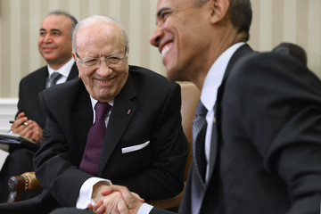 Beji Caid Essebsi Obama Meets With Tunisian President Beji Caid Essebsi at White House