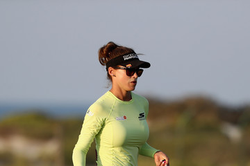 Belen Mozo Fatima Bint Mubarak Ladies Open - Day Two