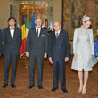 Didier Reynders and Queen Mathilde of Belgium Photos