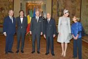 Didier Reynders and Queen Mathilde of Belgium Photos Photo