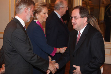 Howard William Gutman Belgian Royals Host New Year Reception For Diplomatic Heads of Mission
