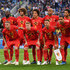 Marouane Fellaini Eden Hazard Photos - Belgium players pose for a team photo during the 2018 FIFA World Cup Russia Semi Final match between Belgium and France at Saint Petersburg Stadium on July 10, 2018 in Saint Petersburg, Russia. - Belgium vs. France: Semi Final - 2018 FIFA World Cup Russia