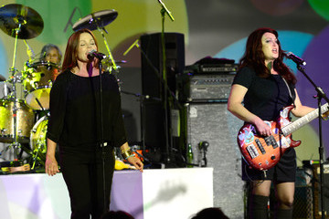 "Belinda Carlisle ""Yesssss!"" 2013 MOCA Gala, Celebrating The Opening Of The Exhibition Urs Fischer - Dinner"