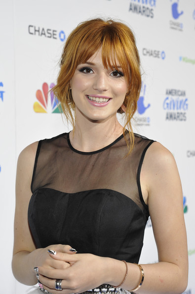 Bella Thorne - American Giving Awards Presented By Chase - Red Carpet
