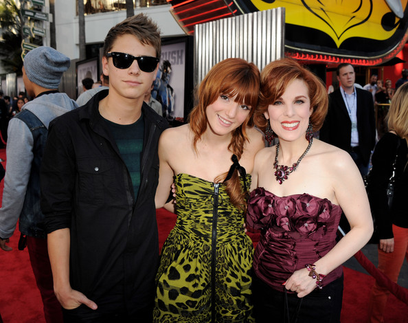 Bella Thorne And Garrett Backstrom Premiere Of DreamWorks