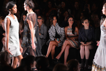 Bella Thorne Louise Roe MBFW: Front Row at Rebecca Minkoff