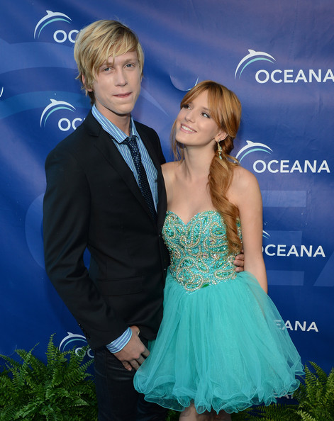 Bella Thorne and Tristan Kleir - 2012 Oceana's SeaChange Summer Party - Arrivals