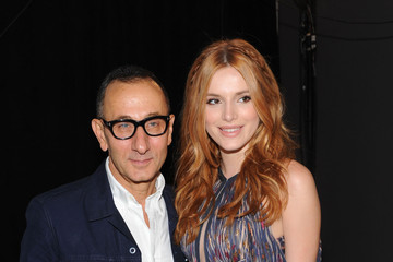 Bella Thorne J. Mendel - Backstage - Spring 2016 New York Fashion Week