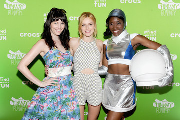 Bella Thorne Celebs Attend the Crocs Funway Event in NYC