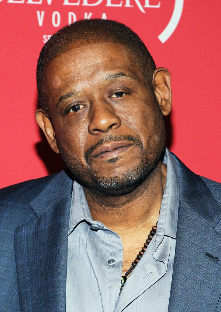 Forest whitaker in belvedere red pre grammys party with for The whitaker