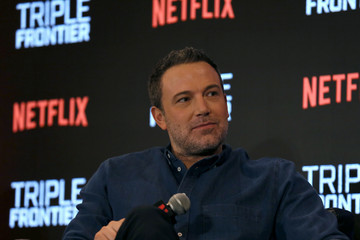 Ben Affleck 'Triple Frontier' Press Conference In Singapore