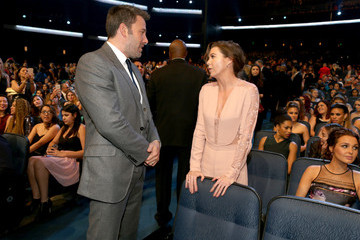 Ben Affleck Behind the Scenes at the People's Choice Awards
