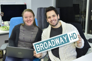 Ben Cohen BroadwayHD and Roundabout Theatre Company's Live Stream Behind the Scenes