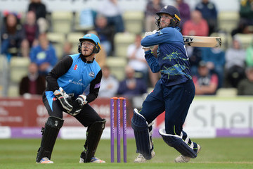 Ben Cox Worcestershire Rapids vs. Kent - Royal London One-Day Cup Semi Final