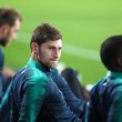 Ben Davies Tottenham Hotspur Training Session And Press Conference