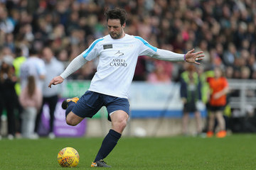 Ben Foden Celebrity Charity Match At Northampton Town Football Club