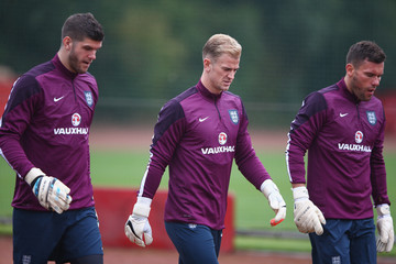 Ben Foster England Training and Press Conference