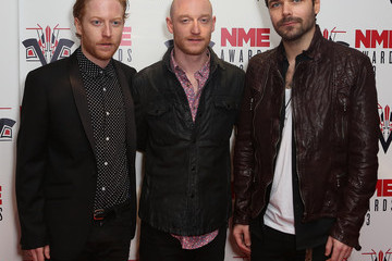 Ben Johnson Red Carpet Arrivals at the NME Awards