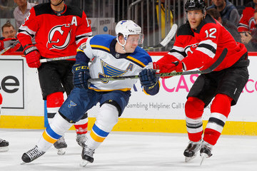Ben Lovejoy St Louis Blues v New Jersey Devils