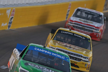Ben Rhodes NASCAR Camping World Truck Series World of Westgate 200